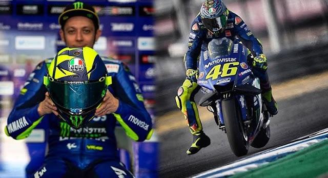 Beberapa Perlengkapan Dari Valentino Rossi Mulai Dari Perlengkapan Atas Sampai Dengan Perlengkapan Bawah!