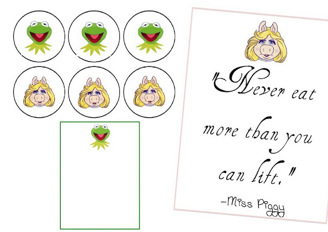 Free Printable Muppets Mini Kit