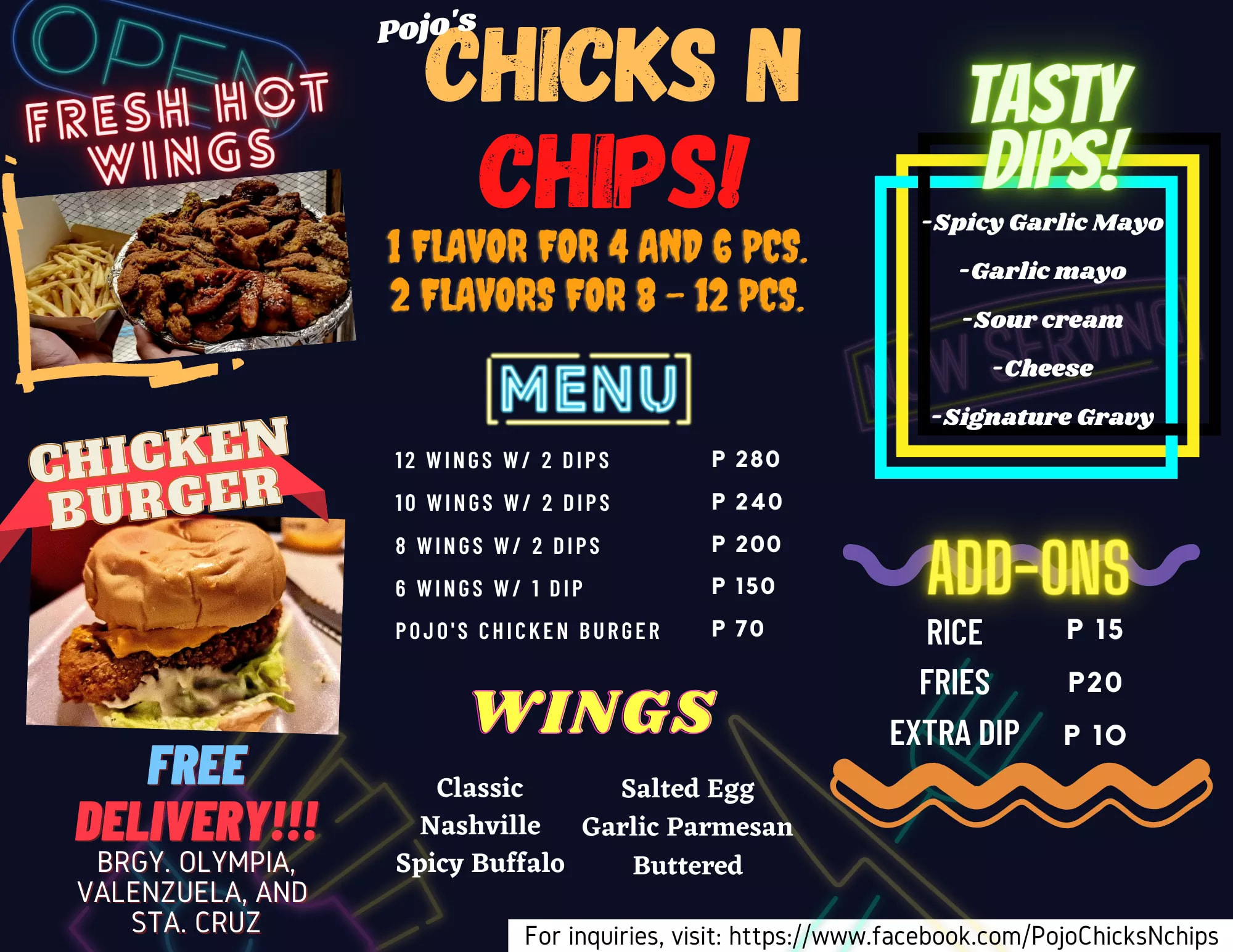 Pojo's Chicks N' Chips - WTF On The Go
