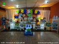 Tema Toy Story para festa de aniversário infantil de meninos - mesa decorada infantil