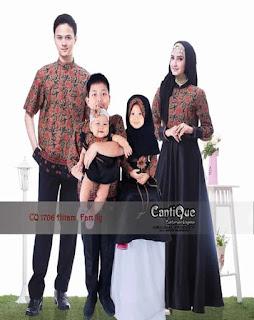 baju couple muslim keluarga