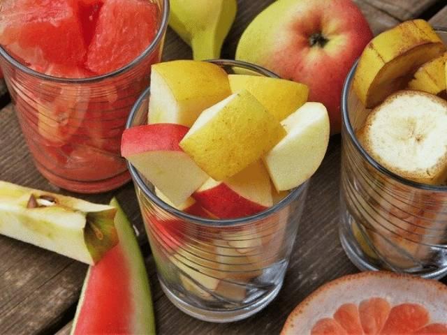 receita de salada de fruta leve ideal para café da manhã