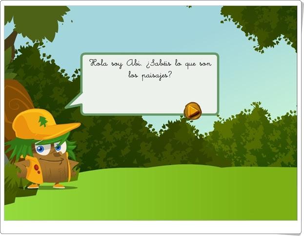 """""""¿Qué es el paisaje?"""" (Aplicación interactiva de Ciencias Sociales de Primaria)"""