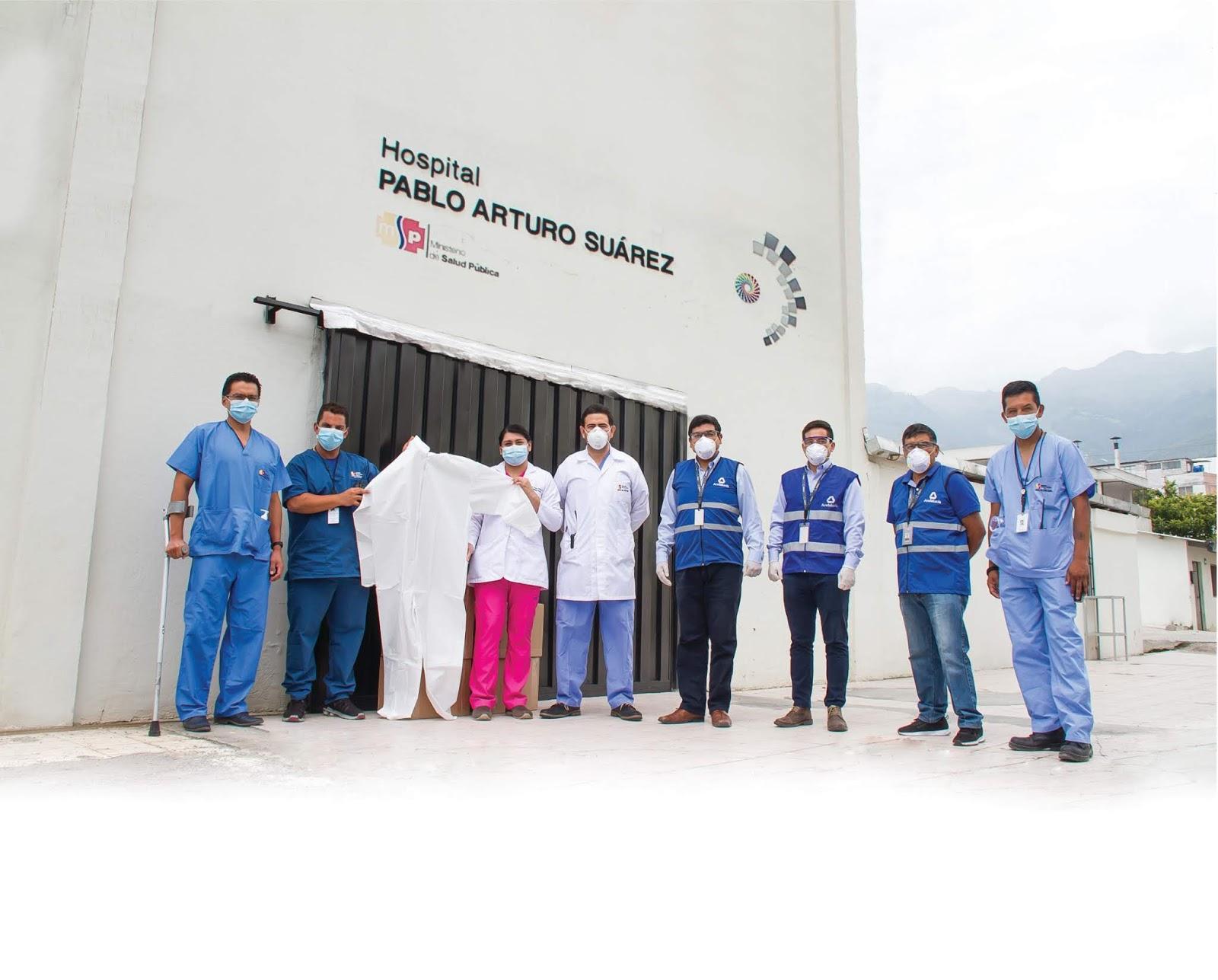 Cooperativa Andalucía donó trajes de protección a médicos del Hospital Pablo Arturo Suárez
