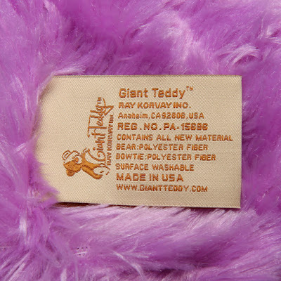 Giant Teddy - proudly made in the USA