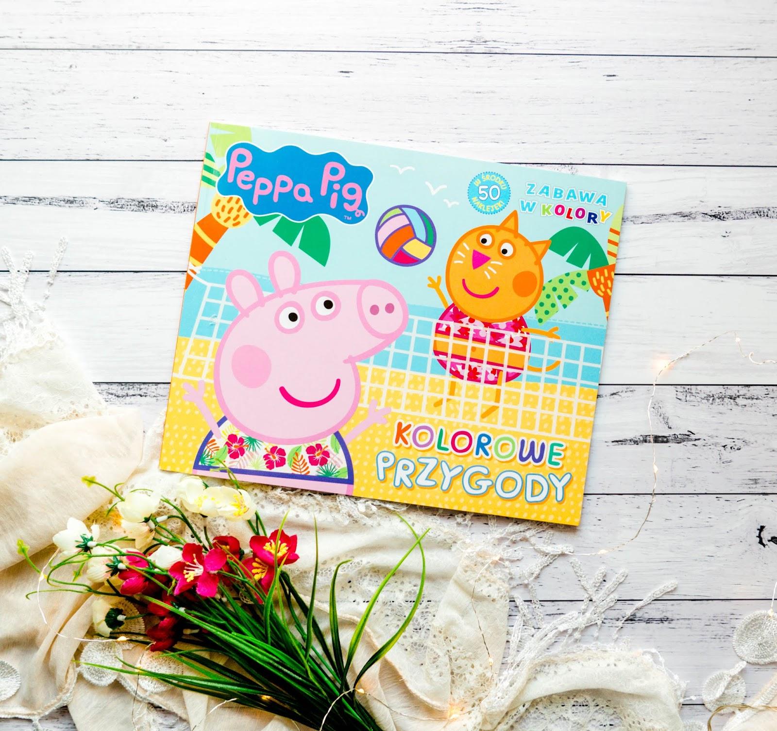 Świnka Peppa zabawa w kolory
