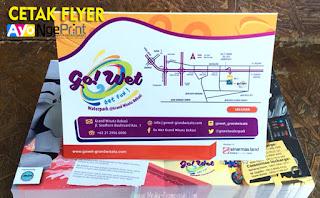 Cetak Flyer Brosur Murah dan Cepat di Kiaracondong, Bandung
