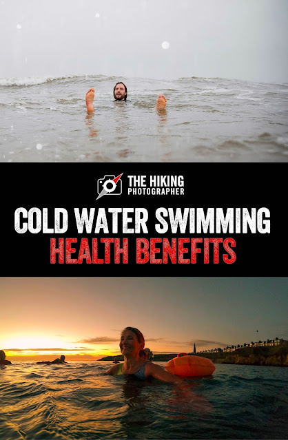Cold water wild swimming health benefits sea river lake ice