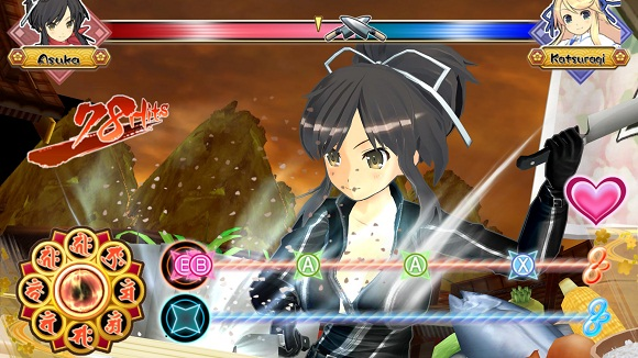 Senran Kagura Bon Appetit PC Full Version Screenshot 3
