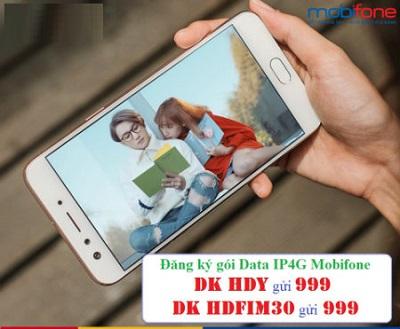 Các gói DATA IP4G Mobifone