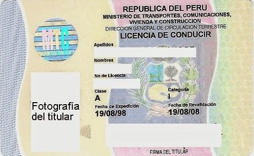 brevete, vehículo, permiso de conducir, bus