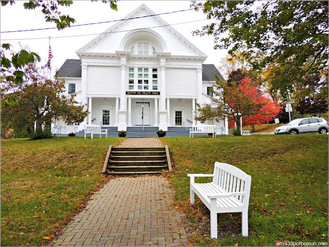 Ayuntamiento de Blue Hill en Maine