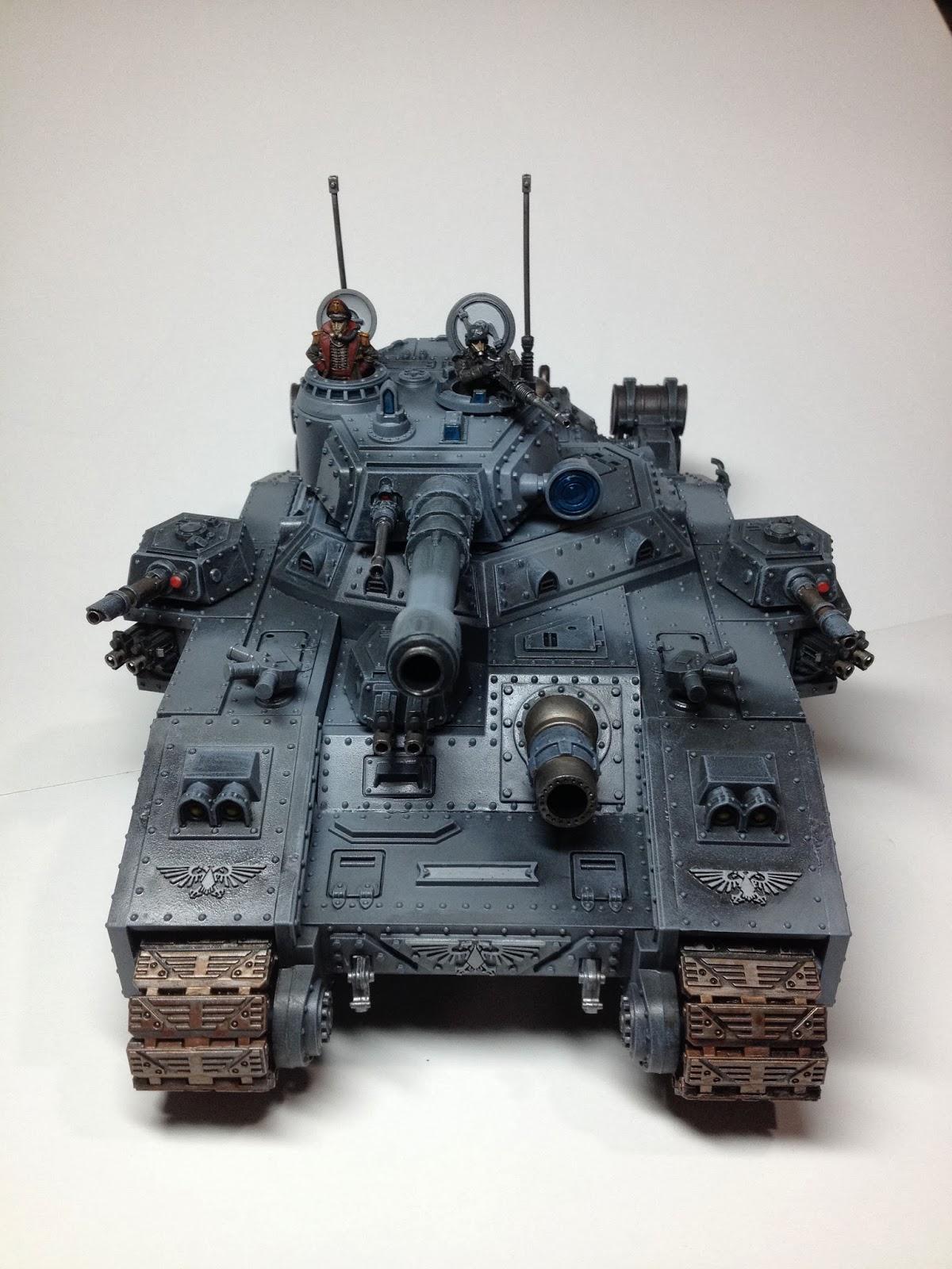 Death Korps of Krieg Baneblade WIP Front