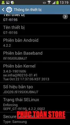 Tiếng Việt và unlocked Samsung I9195 alt