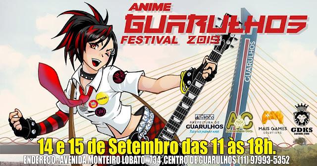Maior evento de cultura pop e anime da cidade de Guarulhos