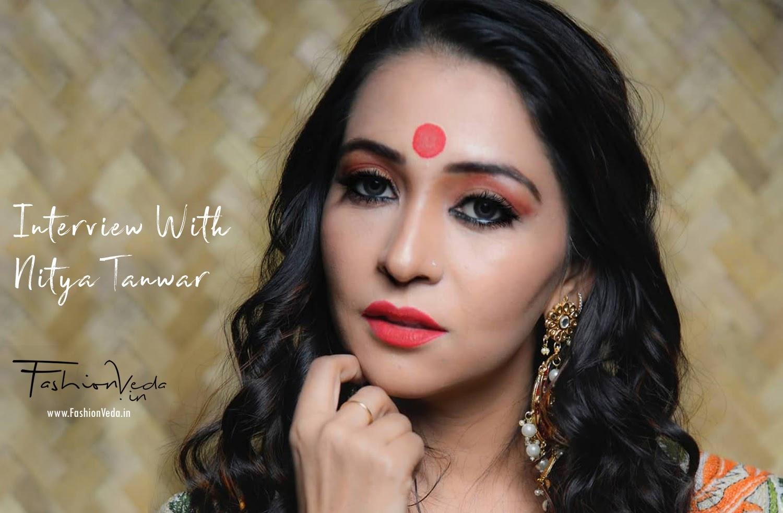 Mrs. Rajasthan 2018 - Ms. Nitya Tanwar