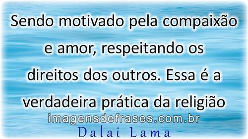 Compaixão - Frases Dalai Lama
