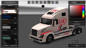 KBE Skin for Volvo VNL 670