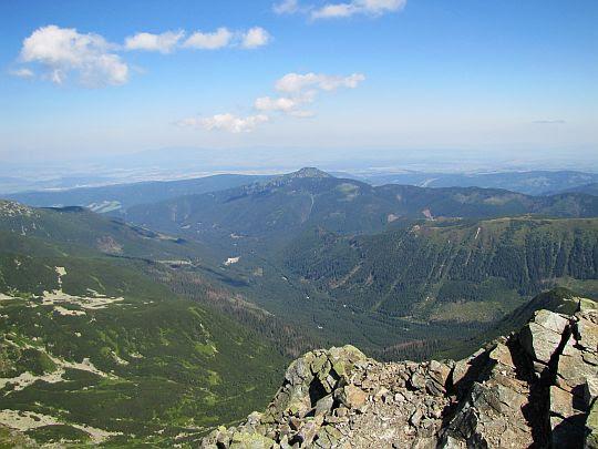 Dolina Rohacka z Drobnej Kopy.