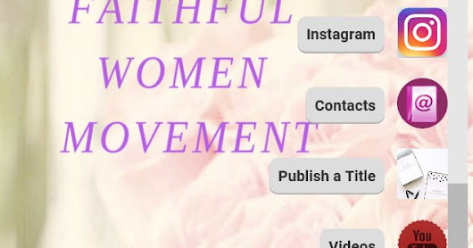 New Faithful Women Movement App!!