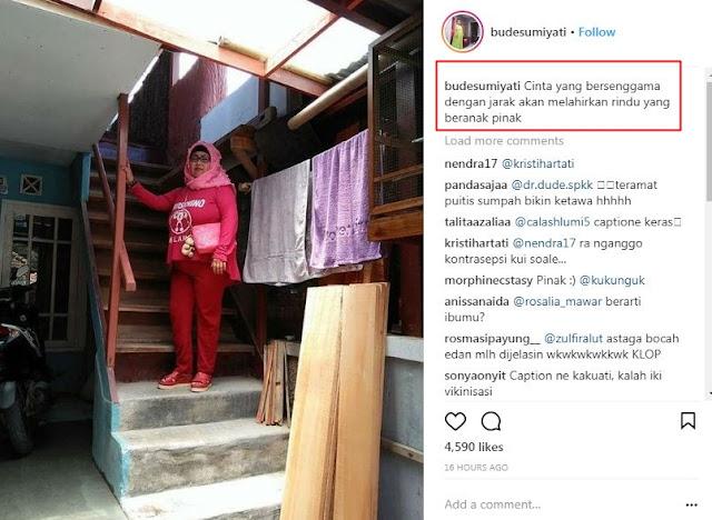 10 Status 'Bude Sumiyati' yang Absurd Abis, Kocak Banget!