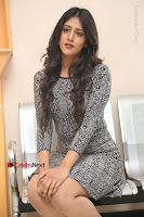 Actress Chandini Chowdary Pos in Short Dress at Howrah Bridge Movie Press Meet  0123.JPG