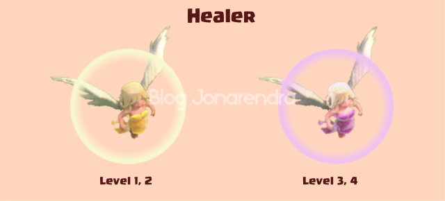 Upgrade Healer Level 1 2 3 4 blog jonarendra