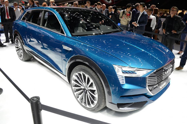2018 New all-electric Audi Q6 e-tron Review