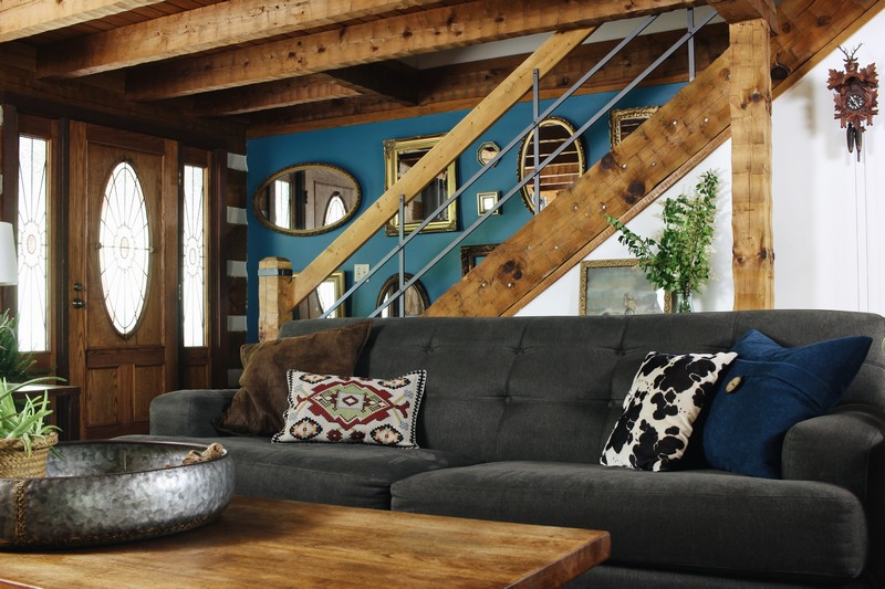 log-cabin-lodge-global-midcentury--great-falls-gray-couch-blue