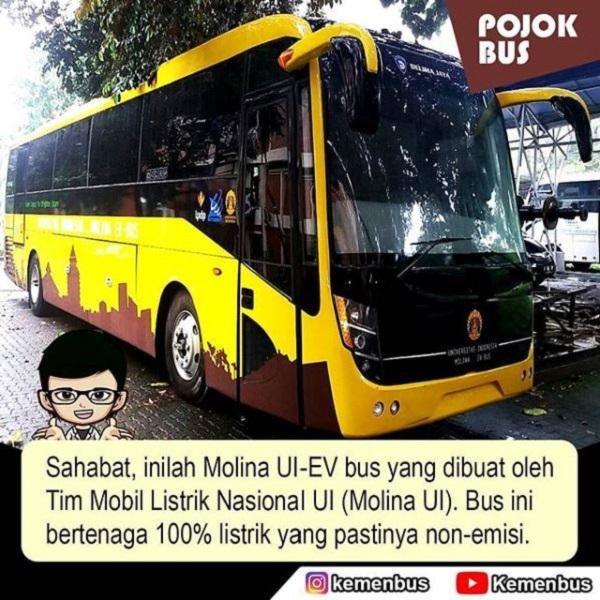 Mobil Listrik Nasional dari Universitas Indonesia