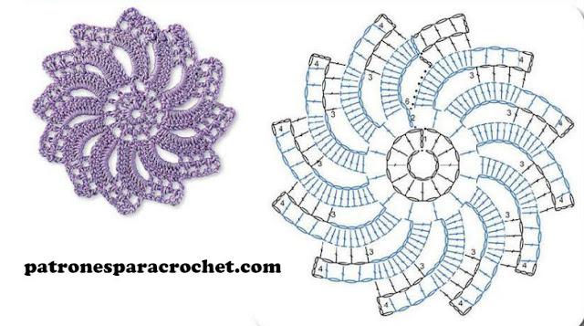 patron-circulo-flor-crochet