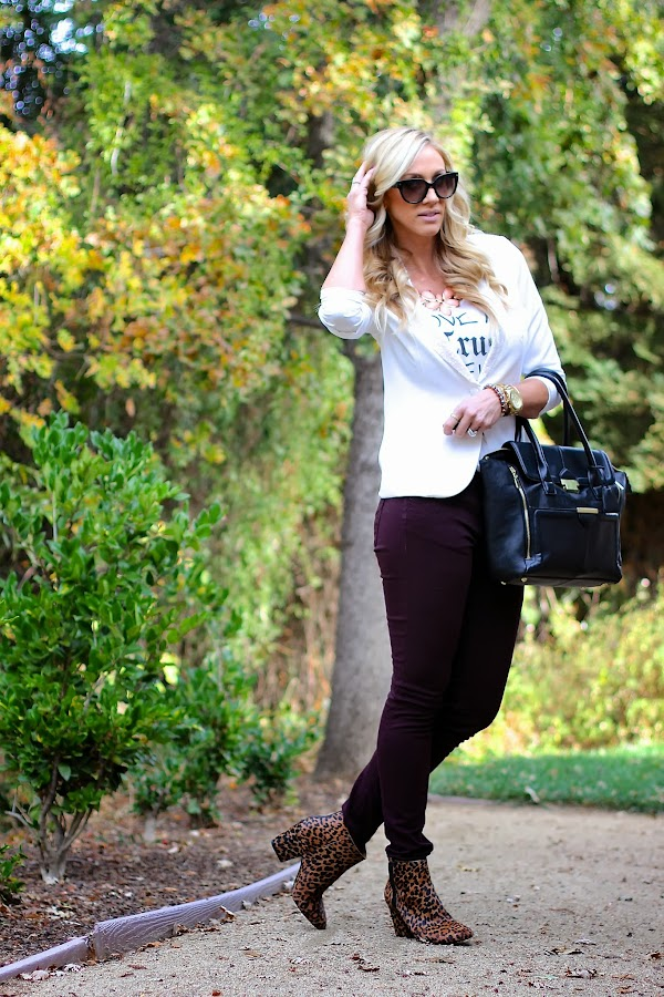 fall style skinnies with booties