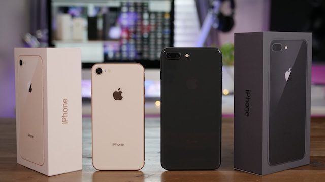 Modelos e cores do iPhone 8