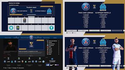 PES 2021 Graphic Pack Trophée des Champions AIO by Milwalt