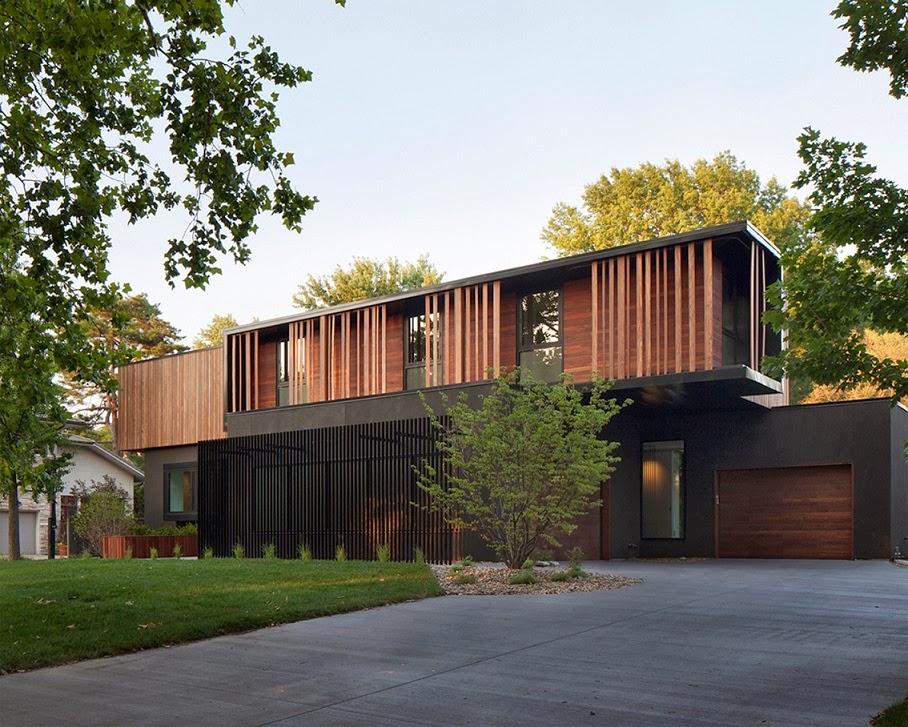 Casa Baulinder inspirada en Movimiento Moderno  Proyectos Hufft  ArQuitexs