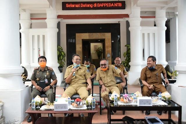 Gubernur Minta Bappeda NTB Buat Visualisasi NTB Lima Tahun Mendatang