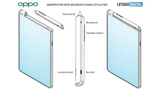 Paten Baru Smartphone OPPO Dengan Stylus