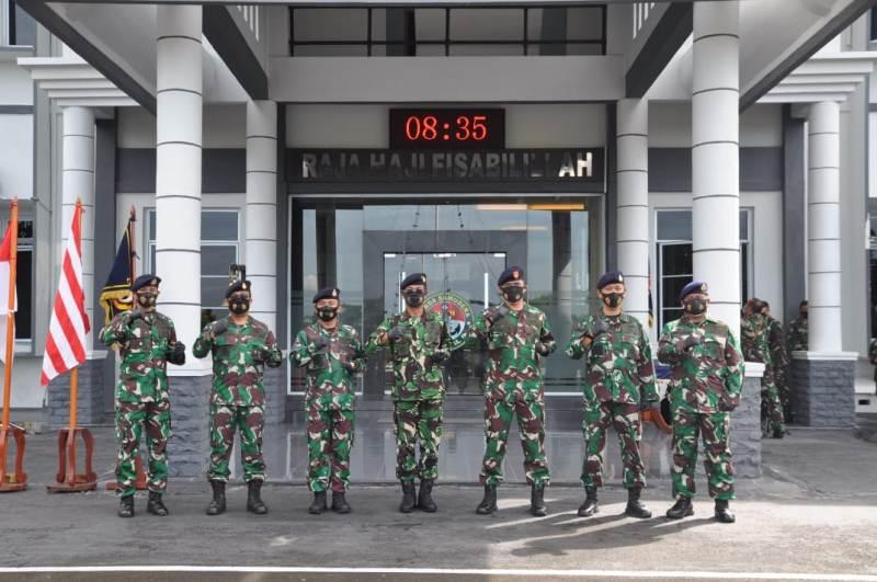 Danlantamal IV Pimpin 5 Jabatan Penting di Lantamal IV