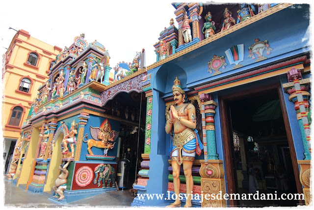 Exterior del Sri Vadapathira Kaliamman