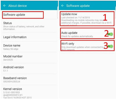 Gambar Cara Upgrade Android System Versi Terbaru Cepat Beda dengan Update