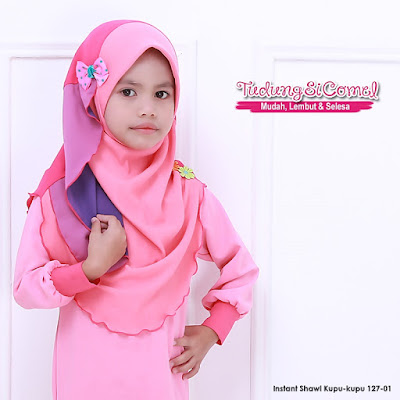 Instant Shawl Kupu-kupu - SOLD OUT
