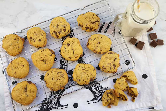 Cookies faciles y rapidas. listas en 20 minutos
