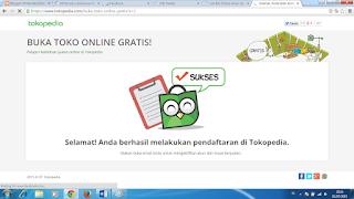 Buat Toko Online bersama Tokopedia Gratis