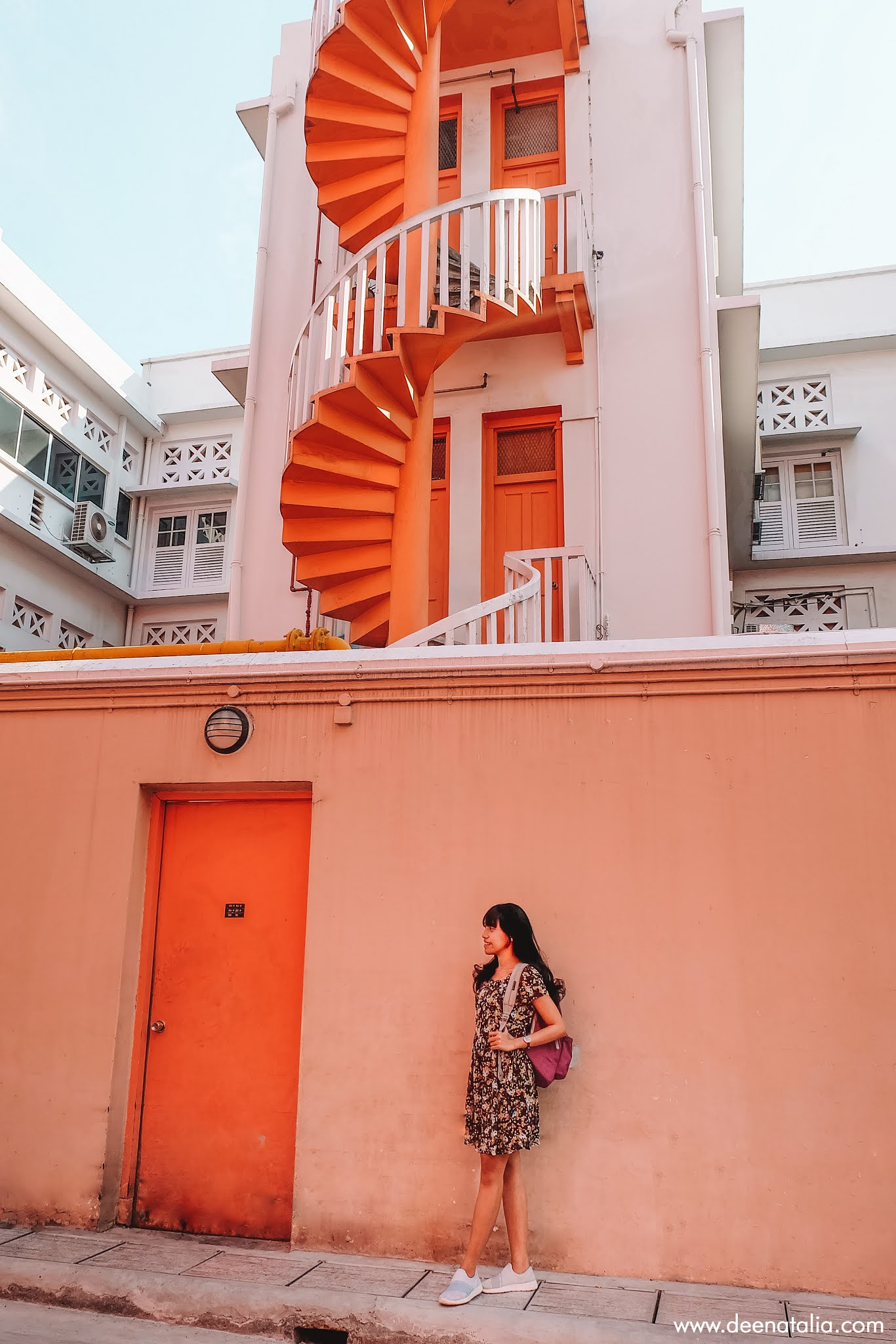 Bugis Colorful Spiral Staircases