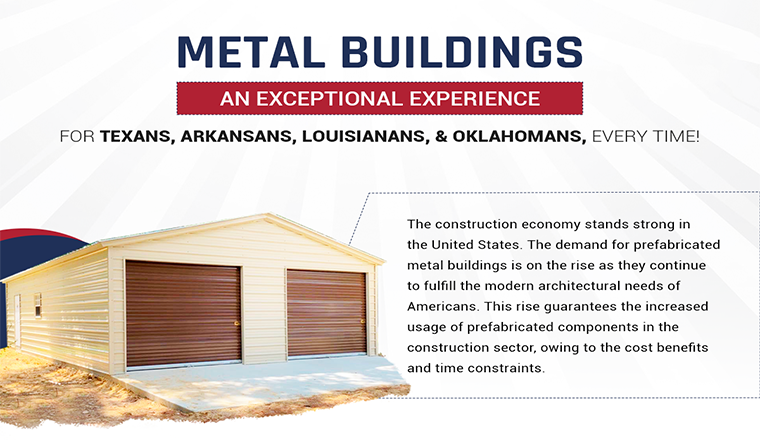 Metal Buildings: An Exceptional Experience For Texans, Arkansans, Louisianans, and Oklahomans, Every time! #infographic
