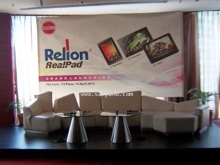 Review Acara: Grand Launching Relion Realpad Toba & Bunaken