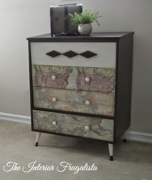 MCM Dresser After Picture