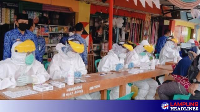 Covid-19 Di Tanggamus Bertambah 3 Kasus, 1 Orang Hasil Tracing Dan Swab Pedagang Pasar Kotaagung