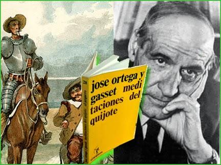 Resultado de imagen de Ortega y Gasset el quijote