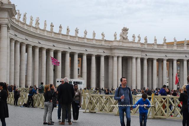 Kolumny na placu świętego Piotra